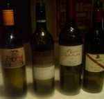 Australian line up four wines