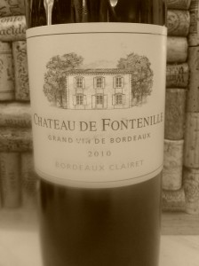 Chateau Fontenille 2010