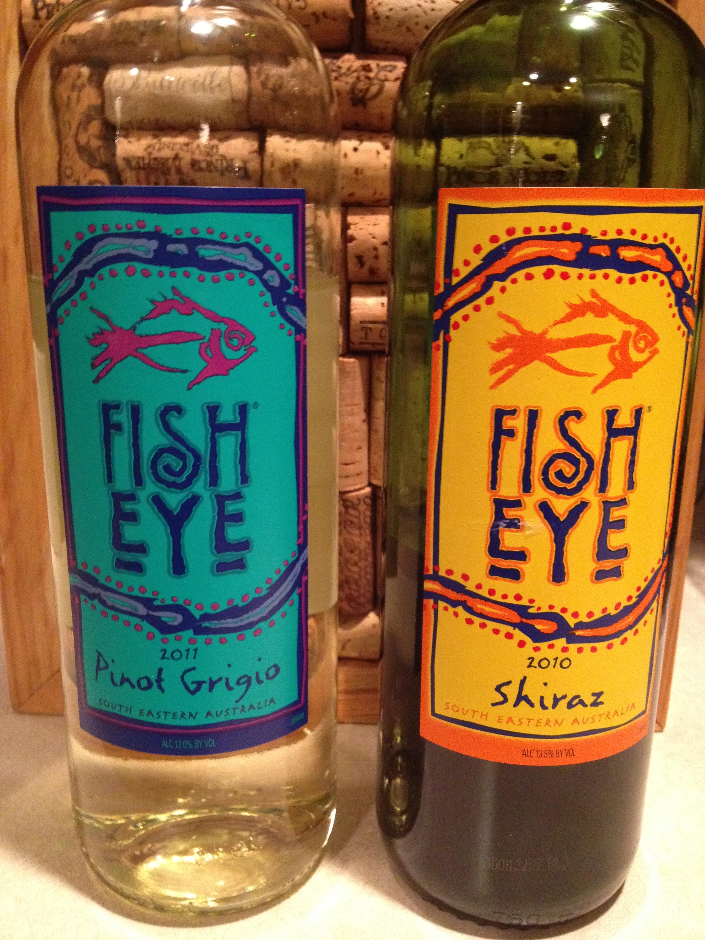 An australia day celebration with fish eye wine wine for Fish eye wine