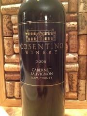 2006 Cosentino Winery Cabernet Sauvignon