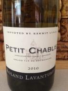 2010 Roland Lavantureux Petit Chablis