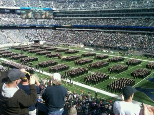 USNA March on