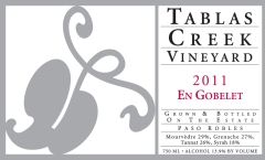 Tablas Creek 2011 En Gobelet