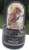 Thirsty Owl 2012 Riesling